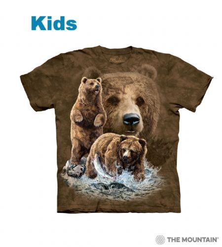 Find 10 Brown Bears - Kids Animal T-shirt - The Mountain®